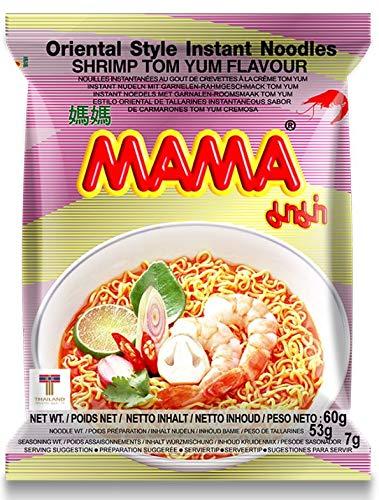 MAMA Instant Ramen Noodle, Tom Yum Shrimp Flavor