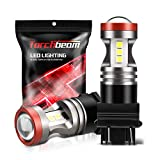 Torchbeam 3157 LED Light Bulbs 3600 Lumens with Projector Error-free For Reverse Back Up Lights DRL Brake Lights Fit 3156 3057 3056 4157 6500K Xenon White(Pack of 2)