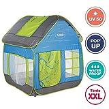 Ludi - Tente Cottage Pop-up pour Jouer dans Le Jardin 130 x 120 x 144 cm....