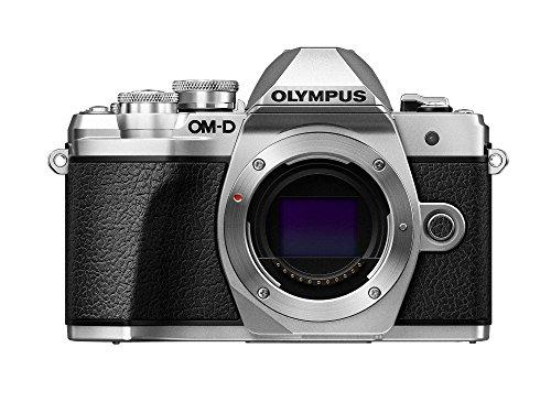 Olympus OM-D E-M10 Mark III Camera Body (silver),...