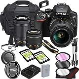 Nikon D3500 DSLR Camera Bundle with 18-55mm VR + 70-300mm Lenses | Built-in Wi-Fi|24.2 MP CMOS...