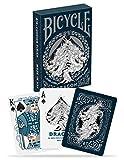 Jeu de cartes Bicycle., mixte adulte, Bicycle Dragon Playing Cards, bleu