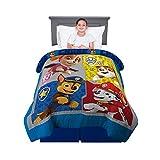 Franco Kids Bedding Super Soft Reversible Comforter, Twin/Full Size 72' x 86', Paw Patrol