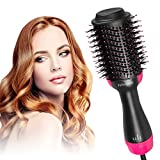 Felicigeely One Step Hair Dryer & Volumizer,Hot Air Brush,3 in1 Styling Brush Styler, Negative Ion Hair Straightener Curler Brush for All Hairstyle