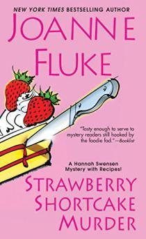 """Cover of """"Strawberry Shortcake Murder"""" by Joanne Fluke"""