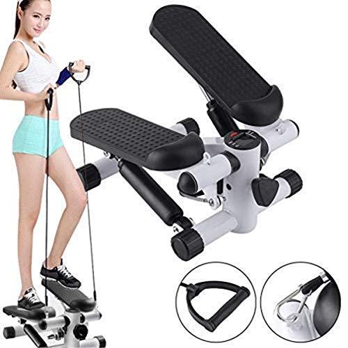 Aysis Mini Stepper,Mini Fitness Exercise Machine-Mini Elliptical Foot Pedal Stepper, Step Trainer Equipment