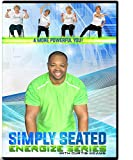 Chair Exercise DVD for Seniors- Simply Seated is an invigorating Total Body Chair Workout. Warm up, Aerobic Endurance, Strengthening, Stretching. You Will Love This Chair Exercise for Seniors DVDs