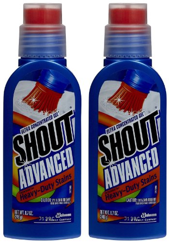Shout Ultra-Concentrated Gel Brush Stain Lifter - 8.7 oz - 2 pk
