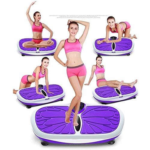 Lcxligang Vibration Trainers Rejection of Fat, Ultra Compact Slim Vibration Plate with Magnetic Massage Multi Exercise Modes for Weight Loss 6