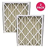Think Crucial Replacement Air Filter – Compatible with Ultravation Part # 91-006 Furnace Air Filter – Fits Most Ultravation, MERV Sized 20x25x5 - Bulk (2 Pack)