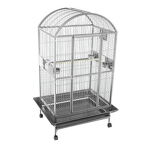 Fish Food Supplies | Enormous Dome Top Bird Cage, Gym exercise ab workouts - shap2.com