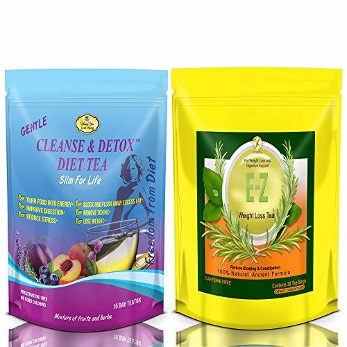 E-Z Detox Diet Tea & Slim for Life Detox Tea 1