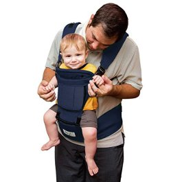 BABY STEPS 6-in-1 Ergonomic Baby Hip Seat Carrier