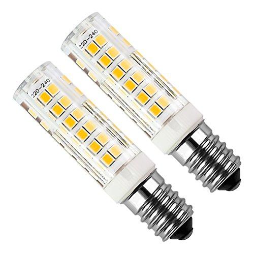 Lampadina LED E14 Kakanuo 5W Equivalenti a 50W Bianco Caldo 3000K 450LM Cappa da Cucina LED...