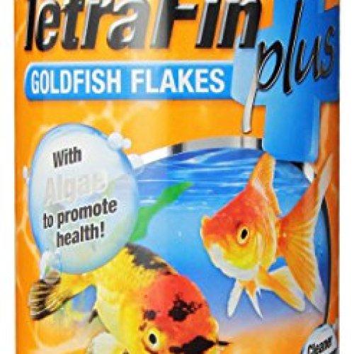 TetraFin Plus Goldfish Flakes with Algae