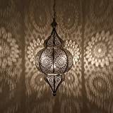 Lampe orientale á suspension, marocaine - hauteur 54 cm avec E27 - Plafonnier...