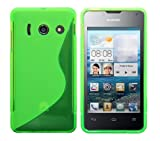 Coque en Silicone TPU Cover Etui pour Huawei Ascend Y300 - Vert