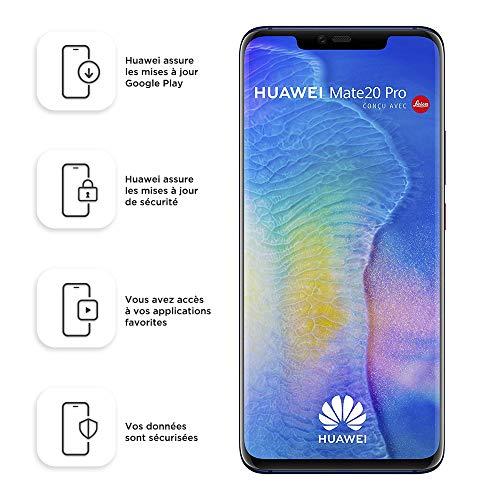 Smartphone Dual SIM Huawei Mate20 Pro de 128 GB / 6 GB - Azul...