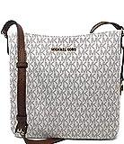 Michael Kors Jet Set Travel Large Messenger Bag (Vanilla 2019)