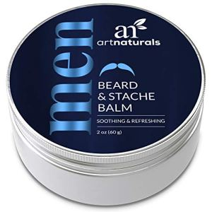 ArtNaturals Mustache and Beard Balm - (2 Oz / 60g) - Natural Hair Wax Oil Leave In Conditioner that...