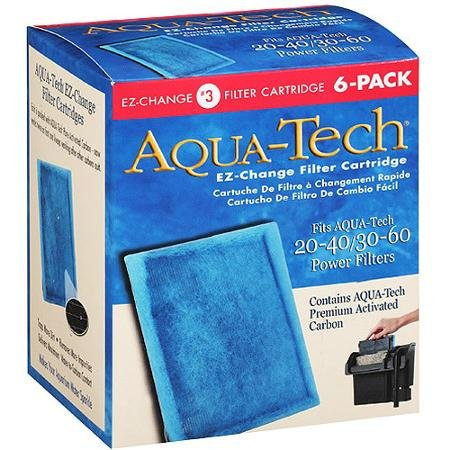 AquaTech 20/40-30/60 Filter Cartridge 6pk