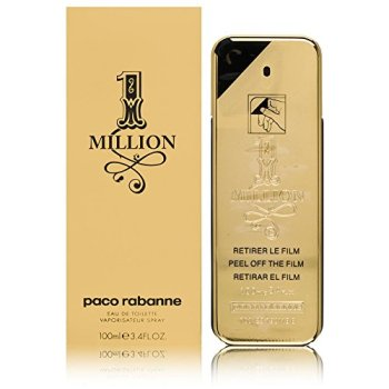 1. Paco Rabanne 1 Million Eau de Toilette