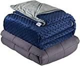 Quility Weighted Blanket for Adults - Queen Size, 60'x80', 15 lbs -...