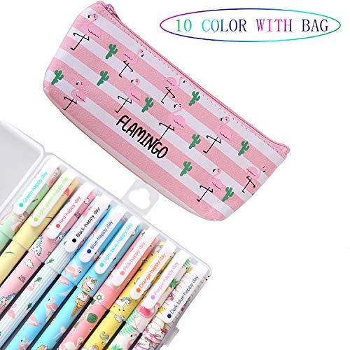 Lhasam Penne di unicorno Astuccio per matite per Ragazze Present School Set regalo di compleanno...