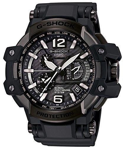 カシオCASIO 腕時計 G-SHOCK グラビティマスター GPSハイブリッド電波ソーラー 64チタンベゼルモデル GPW-1000T-1AJF メンズ