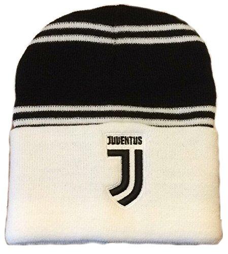 Cuffia Juventus Juve Ufficiale Berretto Cappello JJ BN