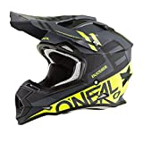 O'Neal Unisex-Adult Off-Road Style 2SERIES Helmet SPYDE Black/hi-viz L, L