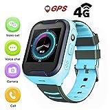 Montre GPS Pour Enfants,IPX7 Etanche 4G Enfants Montre Intelligente GPS...