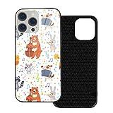 動物ミュージシャン Iphone 12ガラス製電話ケースは、傷がつきにくく、落下防止、衝撃吸収性で……