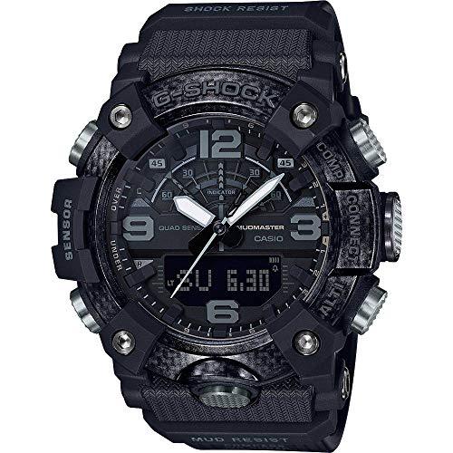 Casio G-Shock Mudmaster GG-B100-1BER Stoßfeste Uhr mit Kompass, Höhenmesser, Barometer, Thermometer und Bluetooth