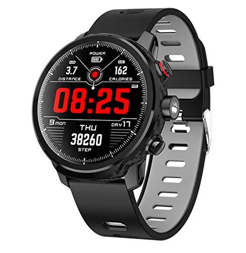 FXMINLHY Tracker di attivit di Fitness con cardiofrequenzimetro 1,3 Pollici Pedometro dello Schermo...