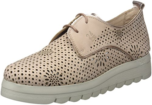 24 HORAS 23573, Zapatos de Cordones Oxford para Mujer, Rosa (Nude 8), 40 EU
