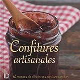 Confitures artisanales : 60 recettes de délicieuses confitures maison de Fanny Matagne (19 juin 2013) Relié