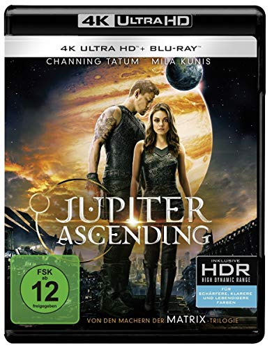 Jupiter Ascending (4K Ultra HD + 2D-Blu-ray) (2-Disc Version) [Blu-ray]