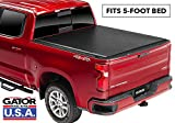 Gator ETX Soft Roll Up Truck Bed Tonneau Cover | 53112 | fits 15-19 GM Colorado/Canyon, 5' Bed | Made in The USA