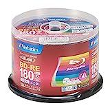 バーベイタムジャパン(Verbatim Japan) くり返し録画用 ブルーレイディスク BD-RE 25GB 50枚 ホワイトプリンタブル 片面1層 1-2倍速 VBE130NP50SV1