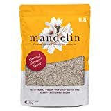 Mandelin Grower Direct Natural Unblanched Almond Flour (1 lb), With Skin, Non-GMO, Gluten Free, Vegan, Keto Plant Based Diet Friendly