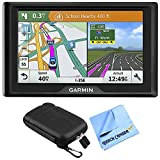 Garmin Drive 51 LM GPS Navigator with Driver Alerts USA (010-01678-0B) with 5 inch Universal GPS Navigation Protect and Stow Case & 1 Piece Micro Fiber Cloth