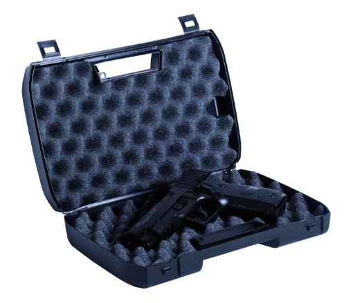 GSG Waffenkoffer für Pistolen, schwarz, 202598