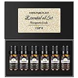 Set de Aceites Esenciales 6 x 10 ml,Miconi 100% Natural Puro Aromaterapia Aceite...