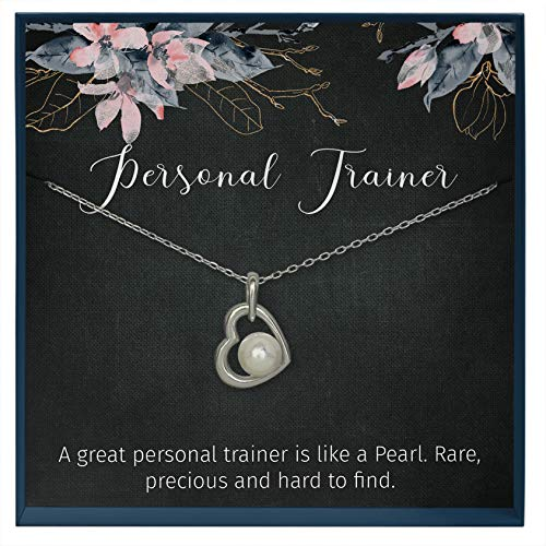 Muse Infinite Personal Trainer Gifts for Personal Trainer Personal Coach Swarovski Pearl Thoughtful Gifts