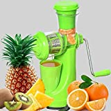 TWINSWA® Hand Juicer Fruit and Vegetable Juicer with Steel Handle with Vacuum Locking System, Good for Shakes, Smoothies, Fruit Juices, Manual/Hand Fruit Juicer for All Fruits, Orange Juicer Maker Machine