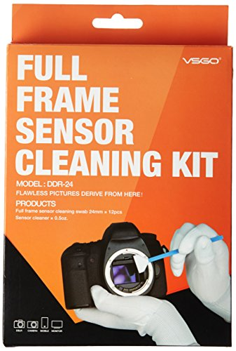 Fotocamera digitale professionale Kit di pulizia, tamponi di sensore e Detergenti liquidi sensore per Nikon Canon Sony Pentax Olympus e Altre Fotocamere DSLR o SLR