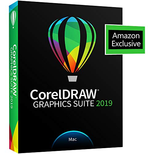 CorelDRAW Graphics Suite 2019 with ParticleShop Brush Pack for Mac -...