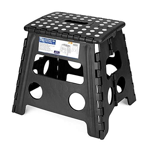 Acko Folding Step Stool - 13 inch Height Premium Heavy Duty Foldable Stool for Adults, Kitchen Garden Bathroom...