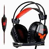 SOULBEAT ソウルビート 901 ゲーミング ヘッドセット ヘッドホン ヘッドフォン マイク付き ゲーム用 高音質 有線 5.1ch fps PC PS4に対応【日本正規品】
